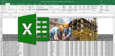 Planillas de Construcción Civil en Excel